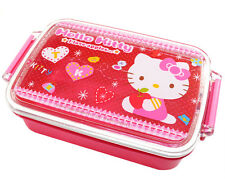 Microwavable Bento Box Sanrio Hello Kitty 450ml Lunch Box Container Japan Made