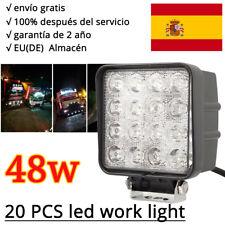 20X 48W LED Lámpara Trabajo,Faros antiniebla, Luz de trabajo,Offroad,12V/SUV