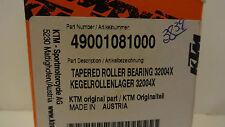 KTM OEM TAPERED ROLLER BEARING 32004X, 49001081000 new