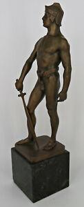 Schmidt-Felling Bronze Kämpfer mit Schwert