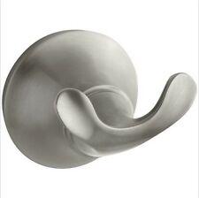 Kohler K-11375-Bn Forte Sculpted Robe Hook, Vibrant Brushed Nickel OpenBox