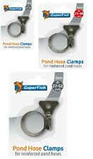 More details for superfish pond hose clamp clip 2 pack 16mm - 52mm wing nut easy tightening