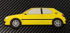 Peugeot 306 Gti 6 / S16 fridge magnets , Yellow
