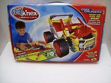 K'Nex Flex Cool Cruisers - Rare - Builds 4 Models - New - 93 pieces