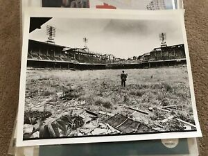 Extremely Rare CONNIE MACK STADIUM Field View Before Demolition