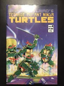Teenage Mutant Ninja Turtles 4 1987 Mirage Comics Eastman Laird 2nd Printing