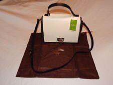 NWT Kate Spade Laurel Magnolia Park Leather Satchel Cross body Handbag WKRU2850
