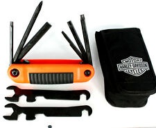 HARLEY-DAVIDSON ALL IN ONE FOLDING TOOL WITH POUCH 94435-10 New