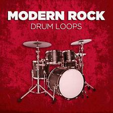 Modern Rock Drum Loops (24-bit WAV) Cubase Logic Pro Tools Garageband Sonar etc.