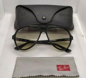 Ray ban rb4125 CATS 5000 black  frames grey gradient lenses sunglasses
