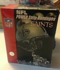 New listing NEW ORLEANS SAINTS Bandaids!  2 Boxes. 50 Total! Brand new! Dont Miss! FREE SHIP