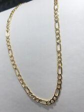 585 GOLD Kette Figarokette 5gramm,65cm,Halskette,neu+Etikett.Gelbgold