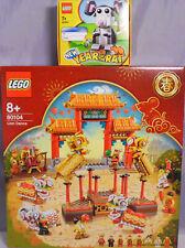 LEGO 80104 Lion Dance Löwentanz Chinese New Year + 40355 Rat Ratte Exclusiv NEU