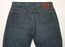 "~RALPH LAUREN~ Polo ""Mercer Low Rise"" Cotton Straight Leg Jeans, 31x32"