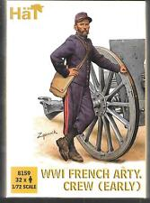 HaT Ww1 French Artillery Crew (early) 1/72 Scale Figures 8159