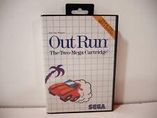 Out Run Sega Master System Pal