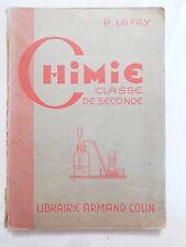 CHIMIE CLASSE DE SECONDE C et MODERNE  1947