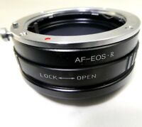 Minolta AF Sony A Lens mount adapter to Canon EOS R Full frame Mirrorless Camera