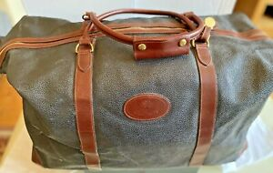 MULBERRY LARGE CLIPPER HOLDALL- SCOTCHGRAIN LEATHER