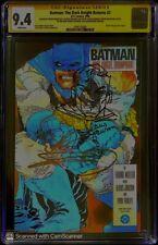Batman The Dark Knight Returns 2 CGC 9.4 SS Sketch  FRANK MILLER Klaus Janson