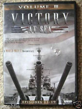 Victory at Sea DVD, Volume III Episodes 13 through 19, in it's Case