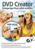 DVD Creator -Einzigartige Filme selbst erstellen - Download Version
