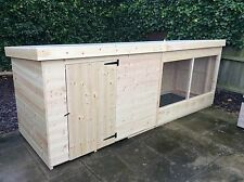 12 X 4. Dog kennel and run. For large dogs