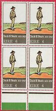 Ireland 1971 Set of 1 Art Jack B Yeats marginal block of 4 sg 306 MNH