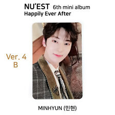 NU'EST - 6th mini album: Happily Ever After Official Photocard - MINHYUN Ver 4-B