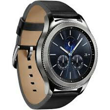 Samsung Galaxy Gear S3 classic Bluetooth Watch with Built-in GPS - Silver NEW