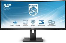 "ESPECTACULAR MONITOR CURVO PHILLIPS  34"" 3440 X 1440! USB -C, HDMI 2.0"