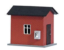 BUSCH 1429 Guardia ferroviaria house H0 #nuovo in confezione originale#