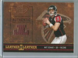 2004 Playoff Hog Heaven #LL-37, Matt Schaub  Leather-Leather Ball Card #216/250