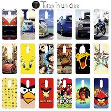 Custodia cover GEL MORBIDA per Wiko View XL -  Design _276_294