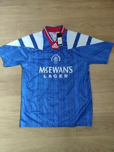 Glasgow Rangers shirt size 2XL, Retro remake, BNWT