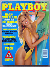 Playboy NL 6/1989, Monique Noel, Meisjes van Rotterdam, Christine Keeler