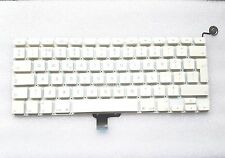 """Apple MacBook Unibody A1342 13"""" Keyboard UK Layout Power Button without Backlit"""