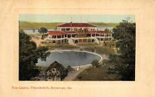 THE CASINO THUNDERBOLT SAVANNAH GEORGIA EMBOSSED POSTCARD (c. 1910)