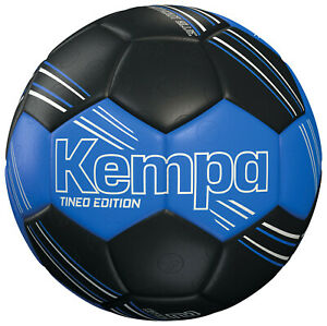 KEMPA Handball Tineo Edition   Exzellenter Trainingsball  Blau/Schwarz  Größe 2