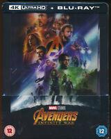 EBOND Avengers infinity war 4K ULTRA HD + BLU-RAY Steelbook D281009