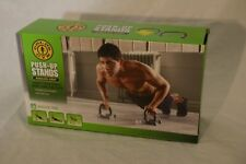 Golds Gym, Push_Up stands, new, angled grip, anti-slip feet
