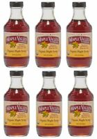 Maple Valley 16 oz Grade A Dark & Robust Organic Maple Syrup - 6 PACK