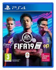 FIFA 19 PS4 VIDEOGAME PLAY STATION 4 GIOCO ITALIANO FIFA 2019 STANDARD EDITION
