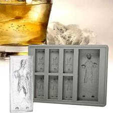 Star Wars Silicone Ice Tray Mold Ice Cube Tray Chocolate Pudding DIY Han Solo UP