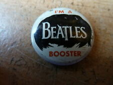 VINTAGE THE BEATLES BOOSTER PIN BADGE GOOD CONDITION FREE UK P&P