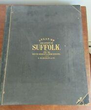 1874 Atlas Of The County Of Suffolk Ma.  Vol III G.M. Hopkins South Boston Dor..