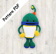 Crochet Patrón Robot, Bot Equipo Umizoomi patrón Pdf (leer descripción)