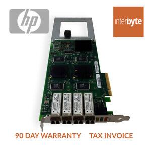 HP PCI-E 4P 4GB QLE2464 FC HBA 455088-001 Fibe Host Bus Adapter