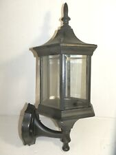 Lantern Lamp Hexagonal 6 Glass Aluminum Outdoor E27 Tamperproof