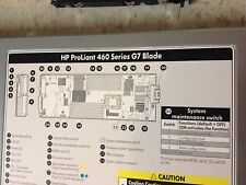 HP Proliant BL460c G7 SERVER 2x 6 CORE X5649 2.53GHz, 48GB RAM, NO HDD 1 unit